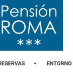 web pensión roma